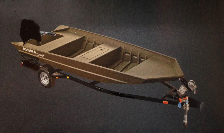 alumacraft jon 1448  with modified v 9 9 mercury and